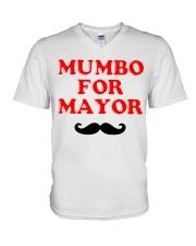 mumbo-for-mayor V-Neck T-Shirt thumbnail