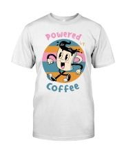 POWERED-BY-COFFEE Classic T-Shirt front
