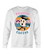 POWERED-BY-COFFEE Crewneck Sweatshirt thumbnail