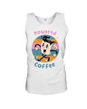 POWERED-BY-COFFEE Unisex Tank thumbnail
