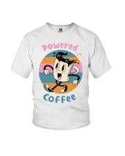 POWERED-BY-COFFEE Youth T-Shirt thumbnail
