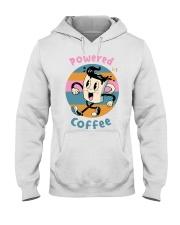 POWERED-BY-COFFEE Hooded Sweatshirt thumbnail