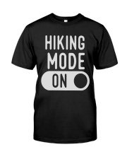 hiking mode on Classic T-Shirt front