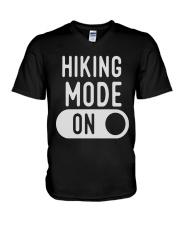 hiking mode on V-Neck T-Shirt thumbnail