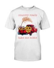 Country roads take me home Premium Fit Mens Tee tile