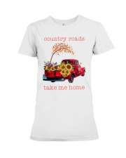 Country roads take me home Premium Fit Ladies Tee tile
