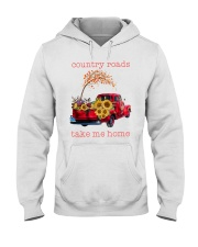 Country roads take me home Hooded Sweatshirt tile