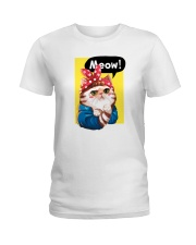 Meow Ladies T-Shirt front