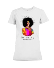 Be salty Premium Fit Ladies Tee thumbnail