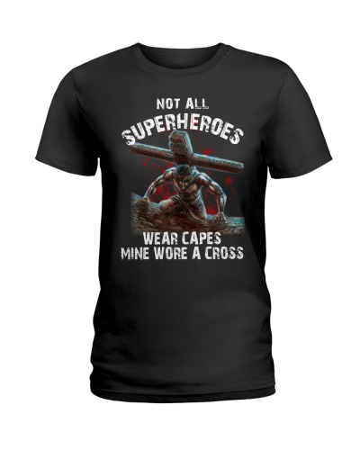 Not all superheroes wear capes mine wore a cross