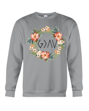 God is greater than the highs and lows Crewneck Sweatshirt thumbnail