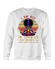 I am not like everyone Crewneck Sweatshirt thumbnail