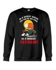 Be a fabulous redhead Crewneck Sweatshirt thumbnail