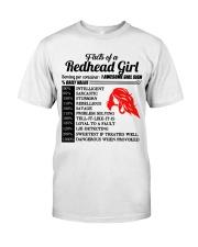 Readhead girl Classic T-Shirt thumbnail