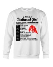 Readhead girl Crewneck Sweatshirt thumbnail