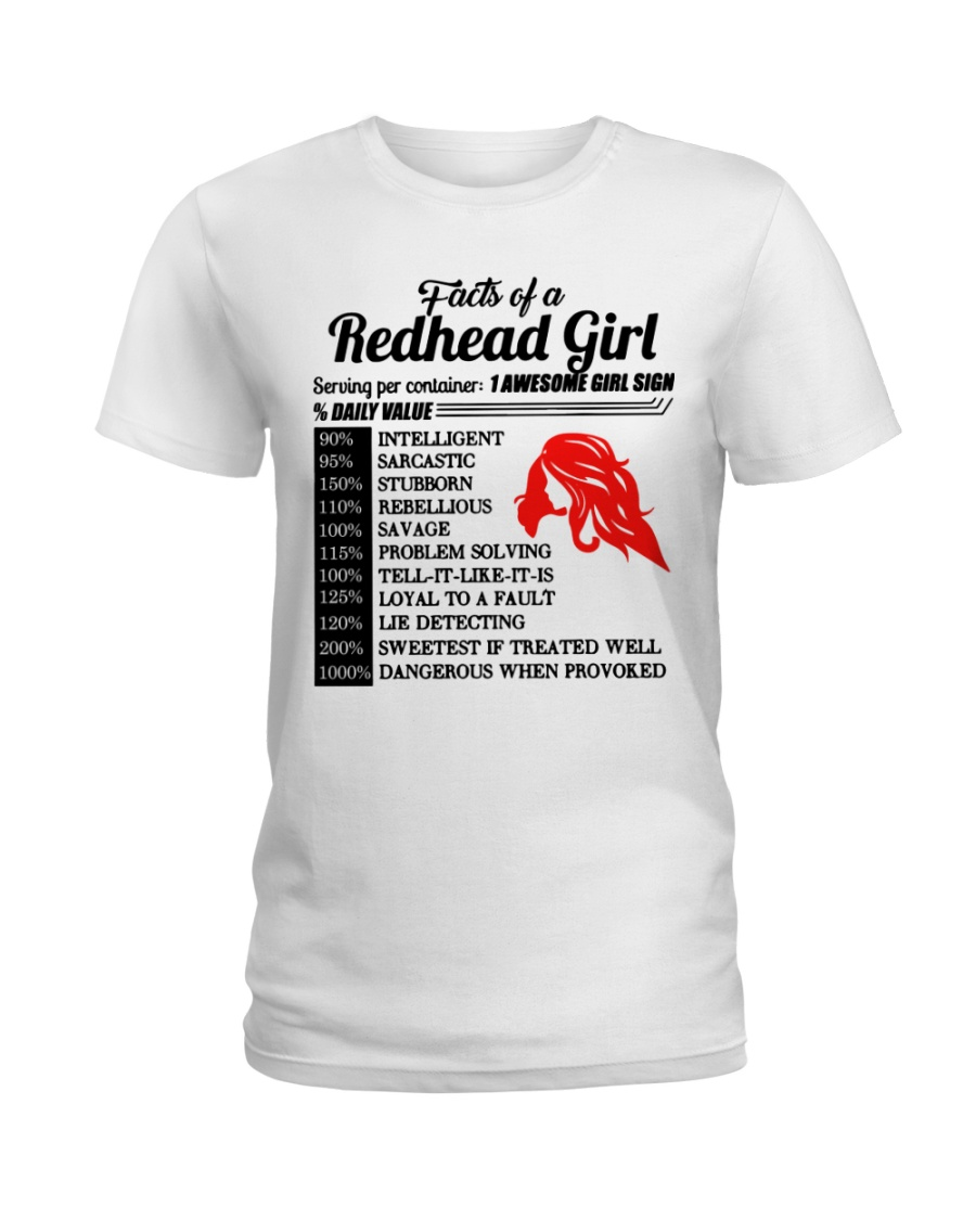 Readhead girl Ladies T-Shirt