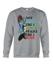 Not fragile like a flower fragile Crewneck Sweatshirt thumbnail