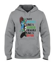 Not fragile like a flower fragile Hooded Sweatshirt thumbnail