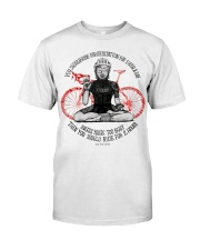 You should ride for meditation for 1 hour day Classic T-Shirt thumbnail