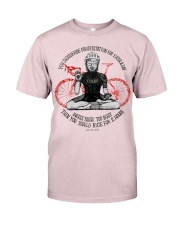 You should ride for meditation for 1 hour day Premium Fit Mens Tee thumbnail