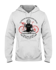 You should ride for meditation for 1 hour day Hooded Sweatshirt thumbnail