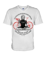 You should ride for meditation for 1 hour day V-Neck T-Shirt thumbnail