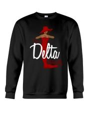 I'm a delta naturally Crewneck Sweatshirt thumbnail