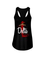 I'm a delta naturally Ladies Flowy Tank thumbnail