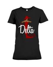 I'm a delta naturally Premium Fit Ladies Tee thumbnail