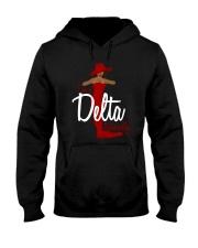 I'm a delta naturally Hooded Sweatshirt thumbnail