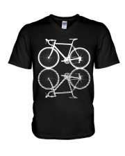 Bicycle V-Neck T-Shirt thumbnail