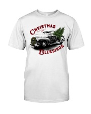 Christmas blessings Classic T-Shirt front
