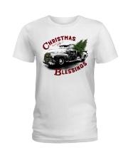 Christmas blessings Ladies T-Shirt thumbnail