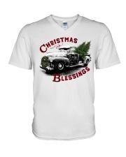 Christmas blessings V-Neck T-Shirt thumbnail