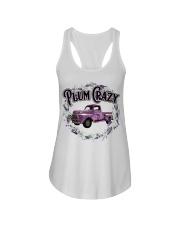 Plum crazy Ladies Flowy Tank thumbnail