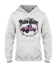 Plum crazy Hooded Sweatshirt thumbnail