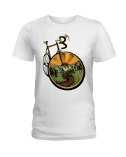 Road bicycle Ladies T-Shirt front