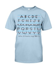 Now i know my abc Classic T-Shirt tile