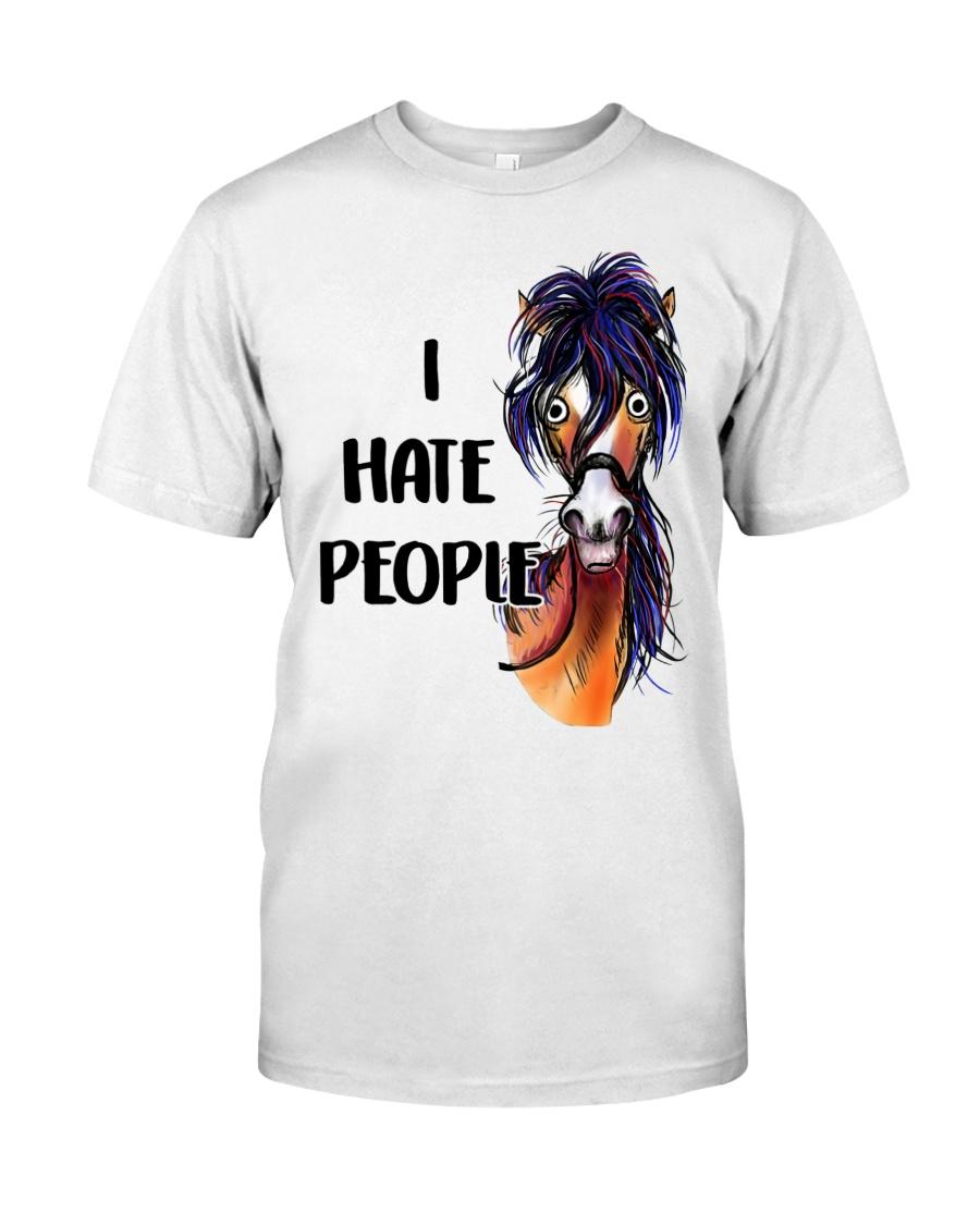 I hate people Classic T-Shirt