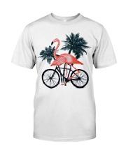 Flamingo bicycle Classic T-Shirt thumbnail