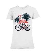 Flamingo bicycle Premium Fit Ladies Tee thumbnail