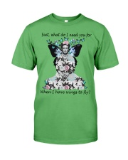 What do I need you for when I have wings to fly Premium Fit Mens Tee thumbnail