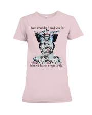 What do I need you for when I have wings to fly Premium Fit Ladies Tee thumbnail