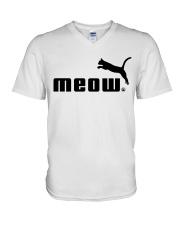 Meow V-Neck T-Shirt thumbnail