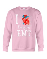 I love being an EMT Crewneck Sweatshirt thumbnail