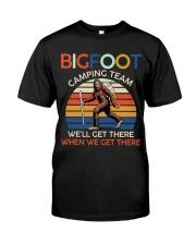 Bigfoot camping team Premium Fit Mens Tee thumbnail