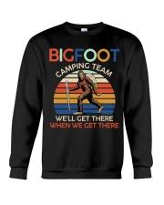Bigfoot camping team Crewneck Sweatshirt thumbnail