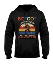 Bigfoot camping team Hooded Sweatshirt thumbnail