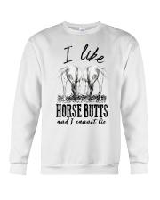 I like horse butts and i cannot lie Crewneck Sweatshirt thumbnail