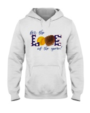 For the love of the game Hooded Sweatshirt thumbnail